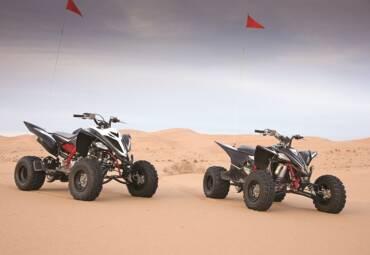 700cc Yamaha Raptor Quad Rental